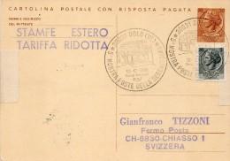 1976 CARTOLINA CON ANNULLO SPECIALE  DOLO VENEZIA   - - Interi Postali