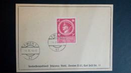 Allemagne 1944 Reich Hitler Avec Cachet 1er Jour Wien - Bon état - Voir 1 Scan (s) Réf: M5542 - Germania