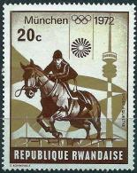 Rwanda 1972 - Munich olympics : Jumping ( Mi 521 - YT 485 ) MNH**