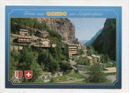 SWITZERLAND - AK 259991 Gruss Aus Gondo Am Simplonpass - VS Wallis