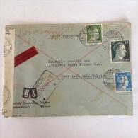 LetDoc. 183.  Lettre Censurée Envoyée De Bochum En  Allemagne Vers Dour  Près De Mons En Belgique En 1942. - Briefe U. Dokumente
