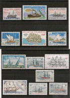 NOUVELLE CALÉDONIE Années 1971/2005 Bateaux ** Côte :  38 € - Lots & Serien