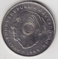 @Y@    Duitsland   2 Mark  1976 F   (2980) - [ 7] 1949-… : FRG - Fed. Rep. Germany