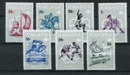 Rwanda - 1976 - MNH ** - COB 737/744 - Mi 799/806 - Olympic games Montreal