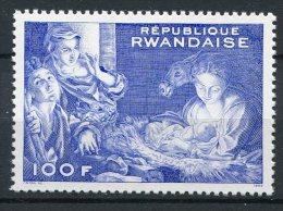 Rwanda - 1969 - MNH ** - COB 321A (from BL20) - Mi 350 (from BL 23A) - Kerstmis - Christmas - Noel - Corregio - 1962-69: Neufs