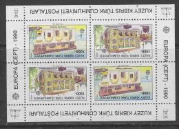 Europa Cept 1990 Northern Cyprus M/s   ** Mnh (27127) - 1990