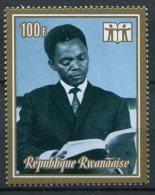 Rwanda - 1973 - MNH ** - COB 518A (from BL28) - Mi 557 (from BL 31A) - President - Year of Book Boek Livre