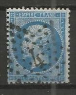 France - Napoleon III - N°22 - Obl. Etoile De Paris Bureau 4