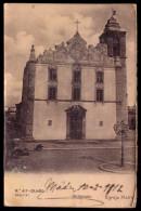 OLHÃO - Igreja Matriz. Old Postcard 1900s FARO / PORTUGAL. - Faro