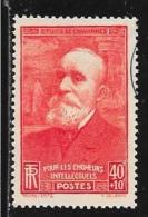 N° 436  FRANCE  -  OBLITERE  -  AU PROFIT DES CHOMEURS INTELLECTUELS  -  1939 - Oblitérés