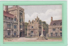 ROYAUME-UNI - ANGLETERRE - OXFORDSHIRE - OXFORD - ILLUSTRATEURS - A.R. QUINTON - Magdalen College 1st Court Oxford - Quinton, AR