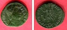 VALENS    AE4   THESSALONIQUE  ( C47,RIC 18B    ) TB 22 - 8. El Bajo Imperio Romano (363 / 476)