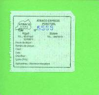 RWANDA - Atraco Express Bus Ticket - Bus