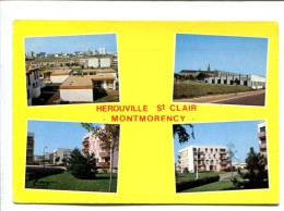 CP - HEROUVILLE SAINT CLAIR (14) GROUPE SCOLAIRE MONTMORENCY VILLAGE SEROC - Herouville Saint Clair