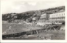 Carte Postale Postal Card Of Isle Of Wight The Shore Ventnor 1952 - Ventnor