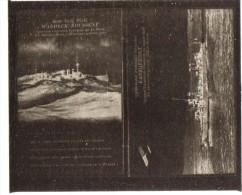 """negatif photo de  2 cartes postales anciennes marine de guerre le """"waldeck rousseau"""" et le """"lansquenet""""  (LOT AC1)"""