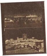 """negatif photo de  2 cartes postales anciennes TOULON """"LA RADE ET L ESCALE + COGOLIN LA TOUR DE L HORLOGE  (LOT AC1)"""