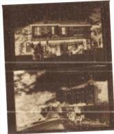 """negatif photo de  2 cartes postales anciennes LA CROIX """"GRAND HOTEL"""" et LA CROIX """"HOTEL RESTAURANT LA CIGALE  (LOT AC1)"""