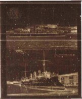 """negatif photo de  2 cpa CANNES le yacht """"lysistrata"""" dans le port et le """"BUGEAUT"""" a rochefort sur mer (LOT AC1)"""