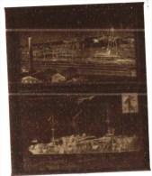 negatif photo de  2 cpa AERODROME FREJUS MONOPLAN NIEUPORT SURVOLANT LE FOUDRE + ROCHEFORT / MER L ARSENAL  (LOT AC1)