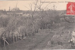 cp , 02 , CHAVIGNY , Cimeti�re Militaire