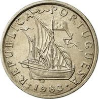 Portugal, 5 Escudos, 1983, TTB+, Copper-nickel, KM:591 - Portugal