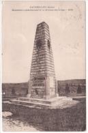 02 - FAVEROLLES - MONUMENT DE LA DIVISION DES LOUPS - COMMEMORATIF MILITAIRE
