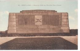 02 - BERRY AU BAC   - MONUMENT AUX MORTS - COMMEMORATIF MILITAIRE DES CHARS D ASSAUT