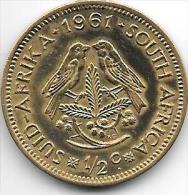 South Africa 1/2 Cent 1961   Km 56  Unc - Afrique Du Sud