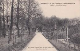 PENSIONNAT DE Melle CHESNEAU                      saint quentin                 jardin allee st joseph