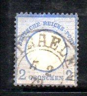 GERMANIA IMPERO 1872 , Il N. 5 Usato : Scudo Piccolo - Oblitérés