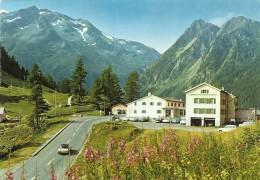 .CPM . HOTEL-RESTAURANT DU COL DE LA FORCLAZ . VS -- CH -- Alt 1527m - ROUTE MARTIGNY-CHAMONIX .. CARTE NON ECRITE - VS Valais