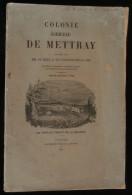 ( Indre-et-Loire ) COLONIE AGRICOLE DE METTRAY Assemblée Générale Des Fondateurs 1877 - Centre - Val De Loire