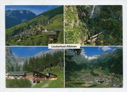 SWITZERLAND - AK 260070 Leukerbad - Albinen - VS Wallis