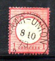 GERMANIA IMPERO 1872 ,  N. 16  Usato : Scudo Grande - Germania