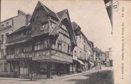 Cp , 14 , LISIEUX , Vieilles Maisons De La Grande-Rue - Lisieux
