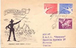 POLAND FENCING SCHERMA WARSAWA 1957 (F160198-200) - Scherma