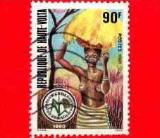 ALTO VOLTA - Usato - 1981 - Donna - Warda (West African Rice Development Assoc.) - Adrao - 90