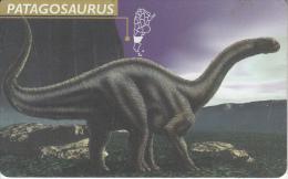 ARGENTINA(chip) - Patagosaurus, Telefonica Telecard(F 55), 05/97, Used - Argentina
