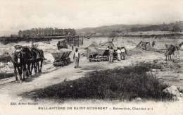 PRESLES ET BOVES 02 -Ballasti�re St Audebert - Extraction chantier N� 1