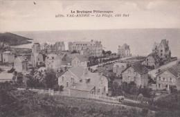 Cp , 22 , VAL-ANDRÉ , La Plage, Côté Sud - Pléneuf-Val-André