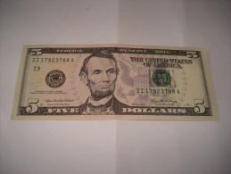 5 DOLLARS 2006  NEUF BILLET USA