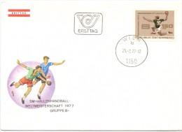 OSTERRECH WIEN 1977  HANDBALL ERSTTAG  (F160209) - Pallamano
