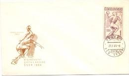 CZECHOSLOVAKIA PRAHA  HANDBOLL FDC 1964  (F160211) - Pallamano