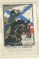 ERINNOFILO  GRANDE GUERRA 1914-1915 RUSSIA  PRO PATRIA ET LIBERTATE - Erinnofilia