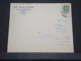 ESPAGNE - Env Madrid Pour Paris - Avril 1920 - A Voir - P 16630 - 1889-1931 Kingdom: Alphonse XIII