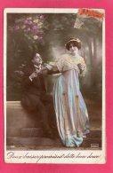 """""""Doux Baiser Promis Est Dette Bien Douce"""", 1911, (Phébus) - Couples"""