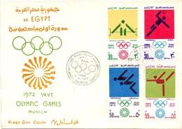 EGYPT OLYMPIC GAMES MUNICH CAIRO M   (F160213) - Giochi Olimpici