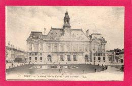 37 INDRE-et-LOIRE TOURS, Le Nouvel Hôtel De Ville, La Rue Nationale, (L. L.) - Tours