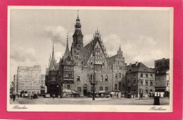 POLOGNE   BRESLAU (Wrocław), Rathaus (Mairie) - Polen